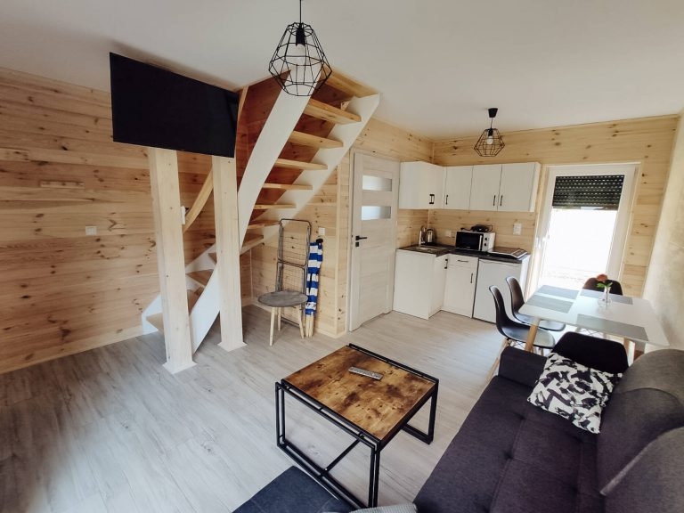 domki apartamentowe dalia salon
