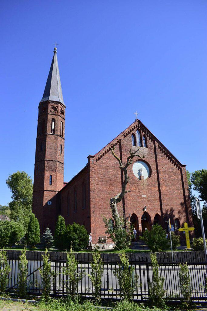 kościół w Sarbinowie